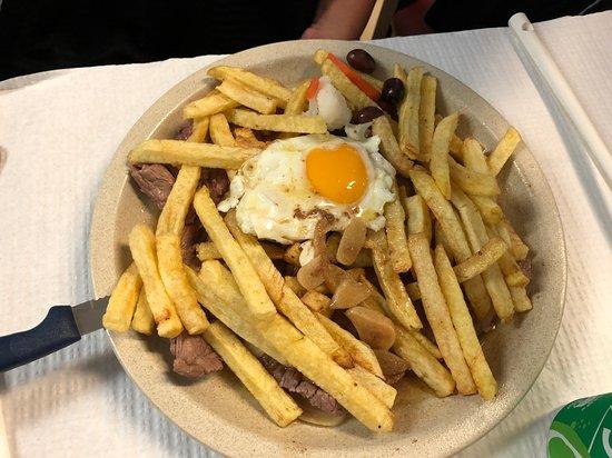 O Pirolito: olio e aglio a volontà