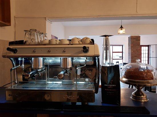Dana Bay, Sydafrika: Our new Coffee Machine.