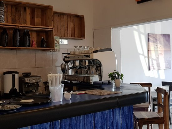 Dana Bay, Sydafrika: We are excited about serving the best coffee in town