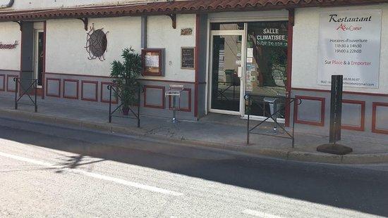 Saint-Laurent-de-la-Salanque, Francia: restaurant as de coeur vous accueil midi et soir sur place et à emporter ( 7/7 jours)