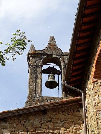 Santuario di Croci: particolare del campanile