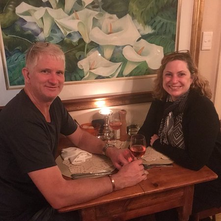 Thyme at Rosemary's Restaurant: Celebrations all round. We won a FB prize from them for their 10th Bday which fell on my Mom's B