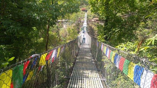 Tatopani, Nepal: The Bridge !