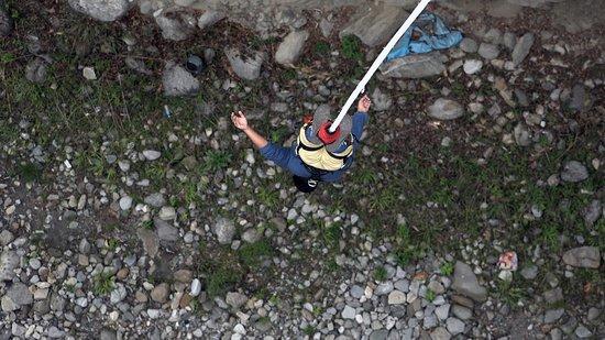 Tatopani, Nepal: Bungee Jumping