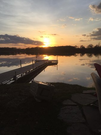 Battle Lake, MN: right out front of cabin