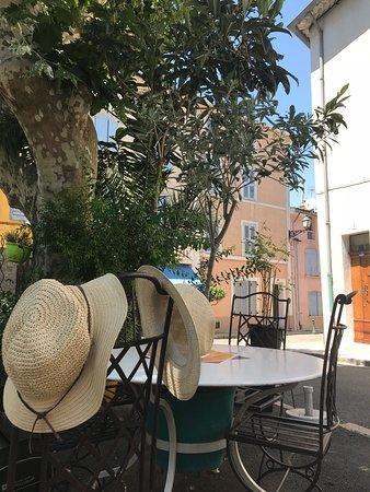 La Terrasse Provencale: Lunch at La Terrace Provencale - July 2018