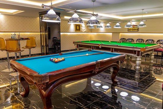 Taj Mahal Hotel: Billiard