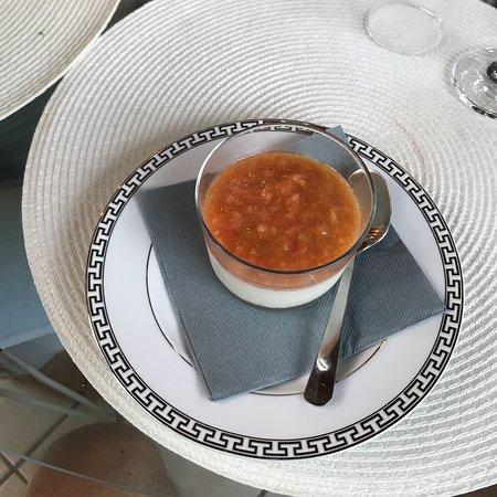 Aux Delice de Fongrave: Lekker huisgemaakte nagerecht