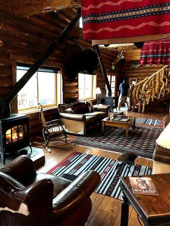 Bar-N-Ranch: lobby of main lodge