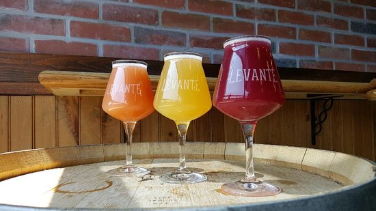 Levante Brewing Company: Our beers are eclectic and artisanal. Enjoy!