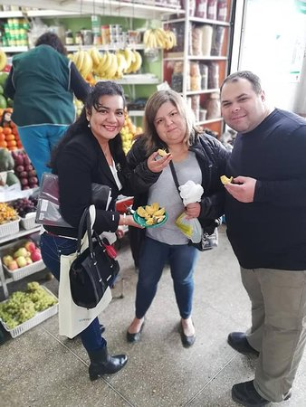"""Peru Culinary Tours: Lets start to taste  peruvian fruits during our:""""Ceviche Food Tour """"open up yourself to new flav"""