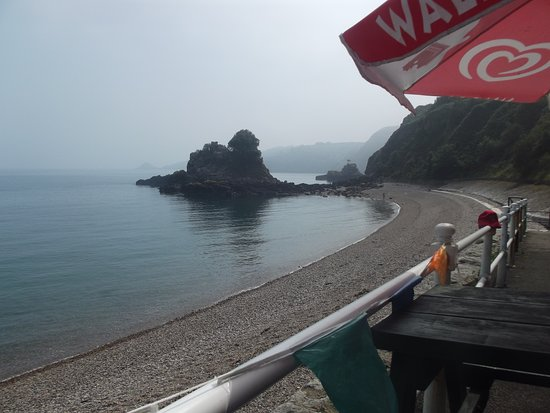 Mad Mary's Bouley Bay Beach Cafe: view from cafe