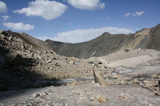 Kelardasht, Ιράν: Alam chal glacier
