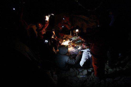 Kelardasht, Ιράν: after climb