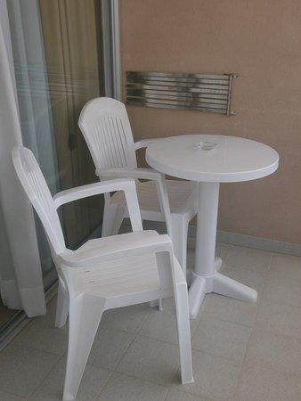 Aqua Hotel Onabrava & Spa: balkon