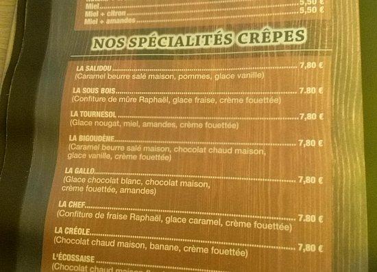 Crêperie Le Tournesol: Le Tournesol.