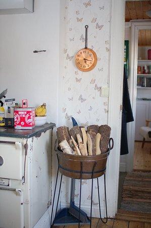 Fallangetorp: kitchen in Lillstugan cabin