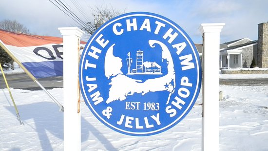 West Chatham, MA: What you'll see from the road coming into Chatham
