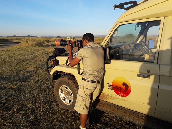 Cross to Africa Safaris: Our professional driver guide in Serengeti National Park