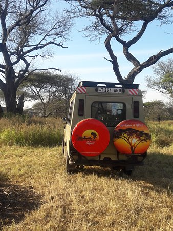 Cross to Africa Safaris: Our vehicle ready for morning game drive.