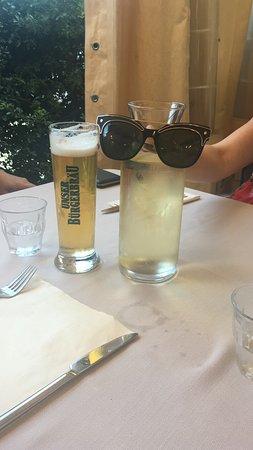 Ristorante Antica Abbazia: Nice cold drinks on a warm night
