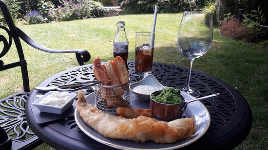 Melbourn, UK: Fish and Chips