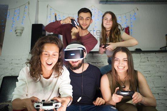 Vortex Games: Совместная игра на одном шлеме - отличный вариант для больших корпоративов