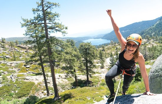 Lake Tahoe Area: Rock climbing is awesome!