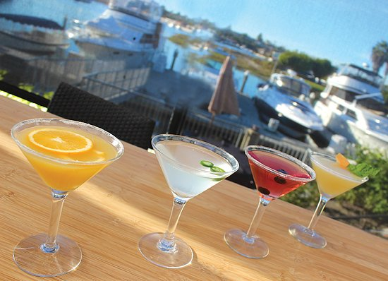 Newport Dunes Waterfront Resort: Grab a cocktail and watch the sunset at the Back Bay Bistro