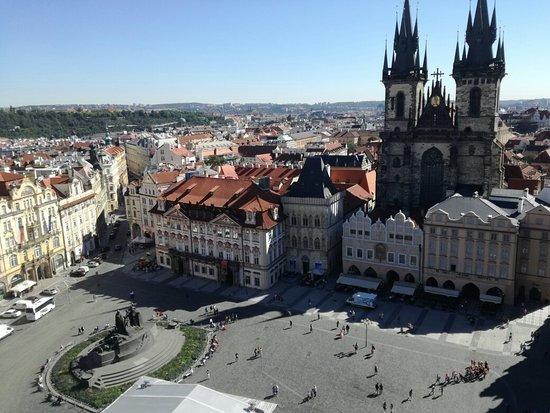 老城市政厅和天文钟照片