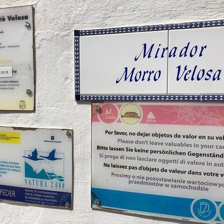 Mirador Morro Velosa照片