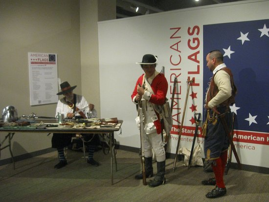 Tampa Bay History Center: Exhibits of America Flags thru History