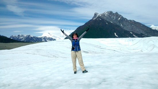 McCarthy, AK: On the Root Glacier in Kennecott
