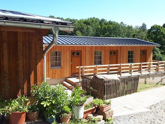 Kirnitzschtal, Duitsland: die neue Schlafhütte