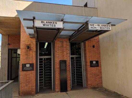 种族隔离博物馆照片