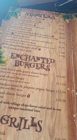 The Crooked Spoon Menu 1 Of 2 Picture Of Enchanted Village Lodges