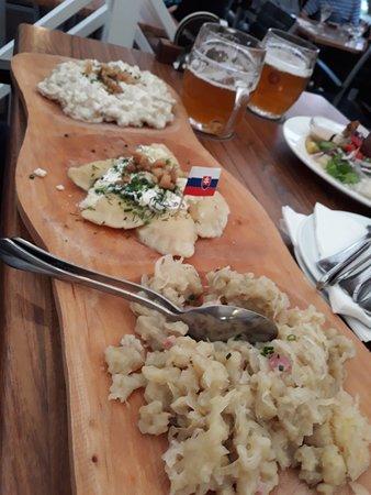 Bratislava Flag Ship Restaurant: tagliere di salumi e formaggi