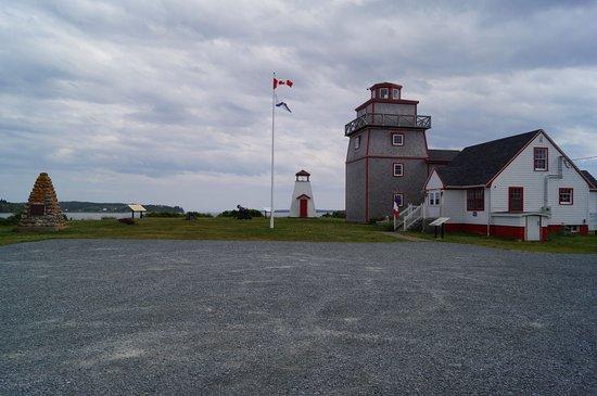 Fort Point Museum: Entrée sur le site