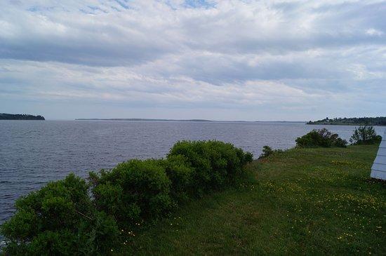 Fort Point Museum: Vue sur la mer à partir du site