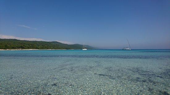 """Dugi Island, Kroasia: la plage de sakarun au nord de l""""ile"""