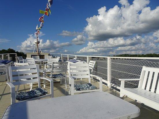 Chestertown, MD: Upper deck