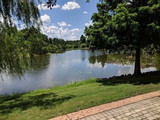 Marriott's Lakeshore Reserve: Walkway around the property