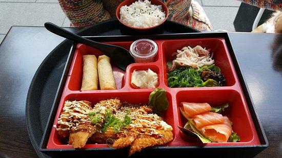 Beecroft, Australia: Tasty pork Bento box