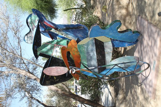 Palm Springs Art Museum in Palm Desert: Colorful Sculpture