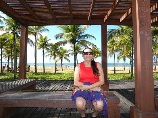 Camburi Beach: Enquanto observava o tempo passar