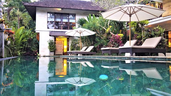 Villa Saraswati: Tranquil setting in beautiful gardens