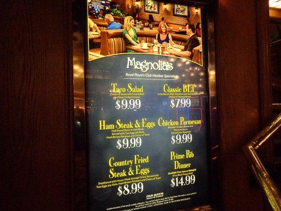 New Specials Picture Of Magnolia S Veranda Las Vegas Tripadvisor
