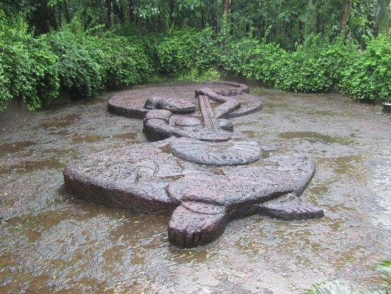 Big Foot Museum: Sculpture of Sant Mirabai