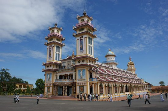 Day Trip to Cao Dai Temple and Cu Chi...