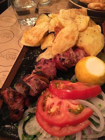 Pork Souvlaki with